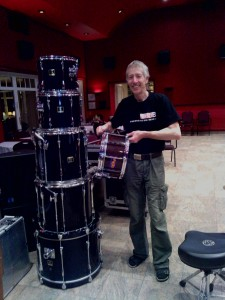 Schlagzeuger Horst Berthold TrioB XL